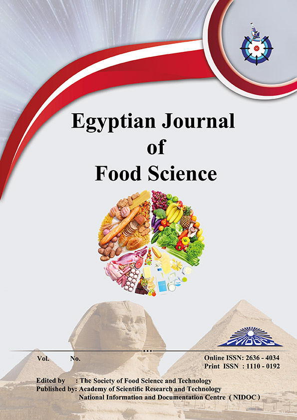 Egyptian Journal of Food Science